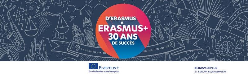 Actualité Erasmus 30 ans