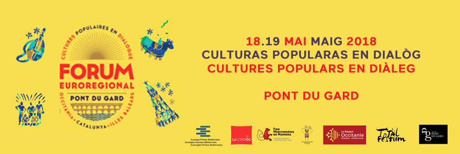 Forum euroregional « Culturas popularas en dialòg »