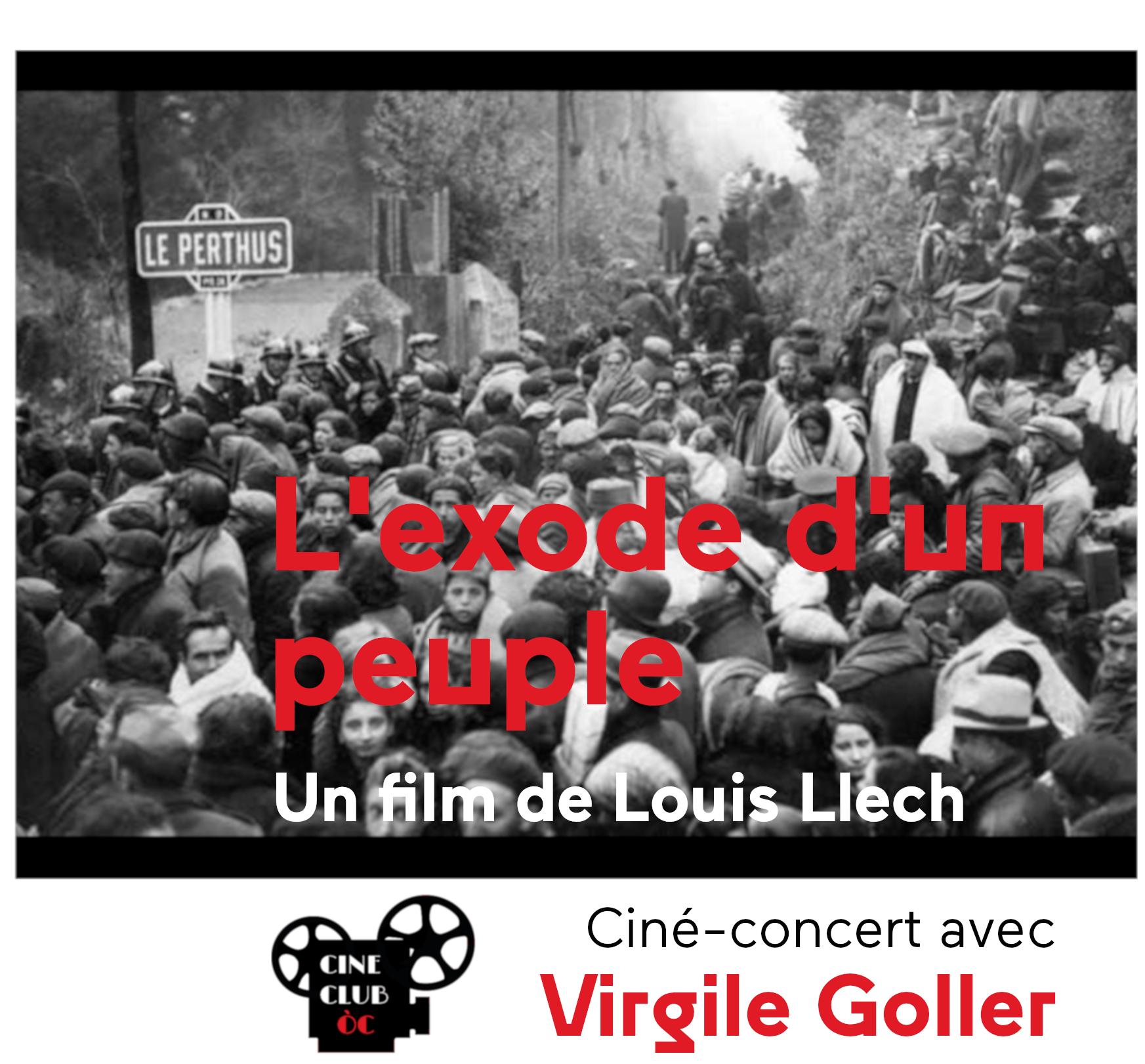 Ciné-concert : « L'Exode d'un peuple »
