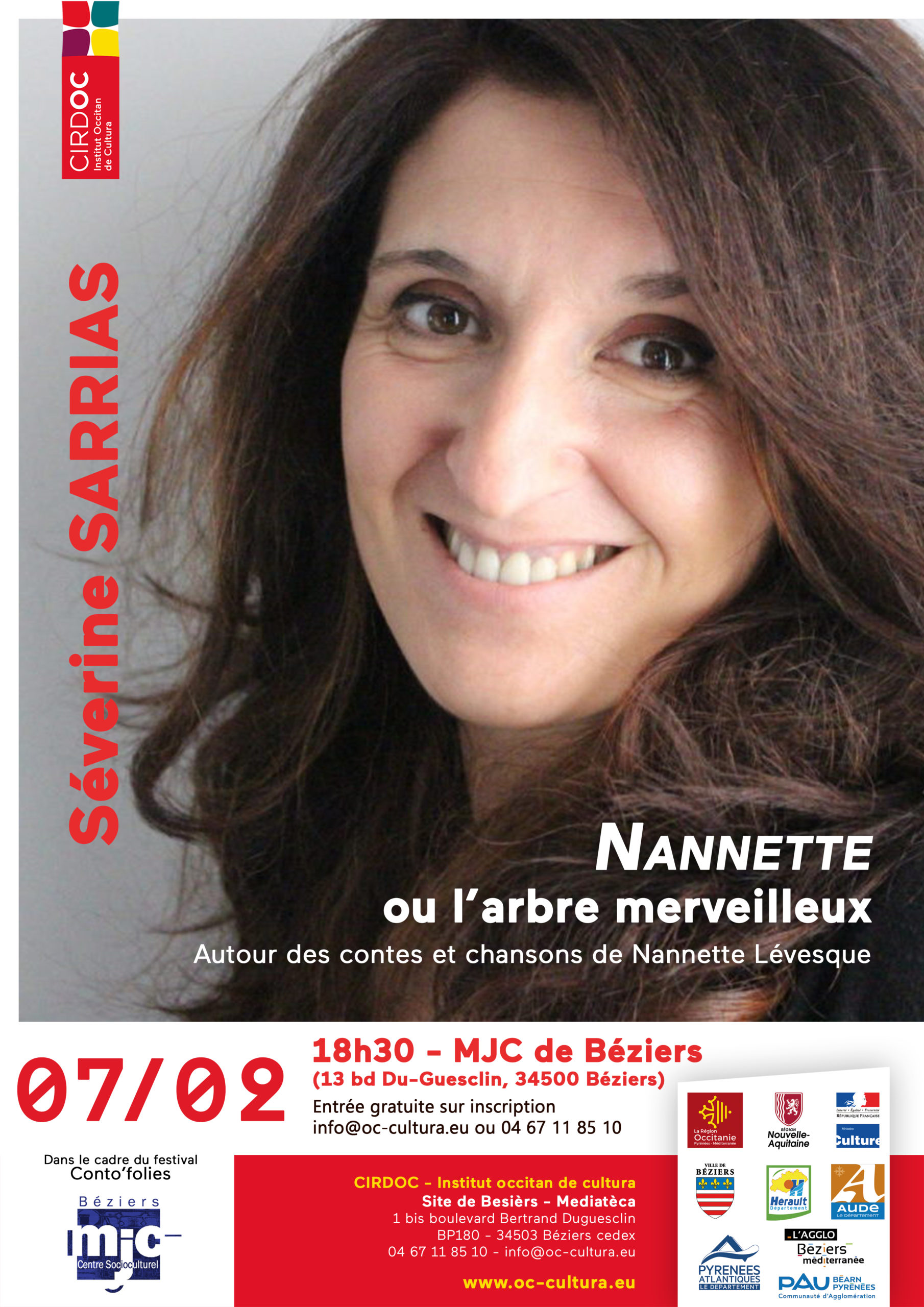 « Nannette ou l'arbre merveilleux » - Spectacle contes et chants
