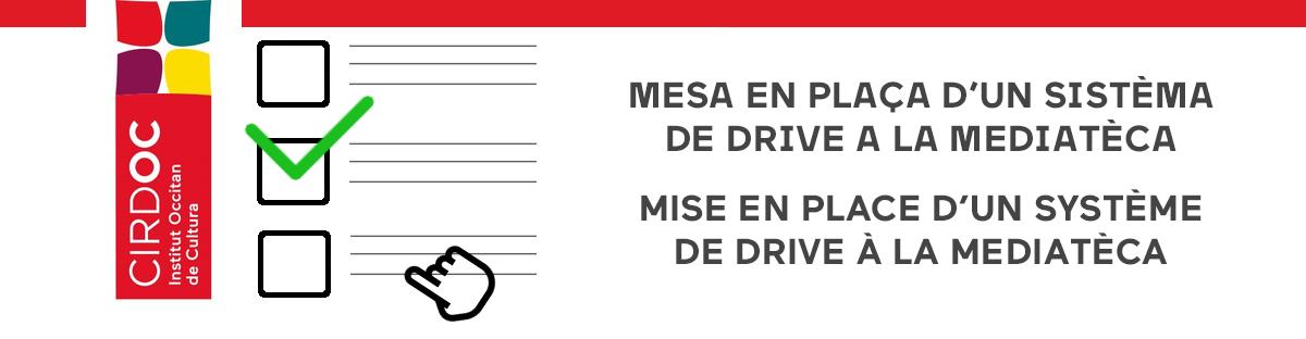 Reconfinement : Mise en place d'un système de Drive à la Mediatèca