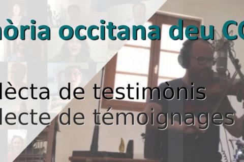 Memòria occitana deu COVID-19