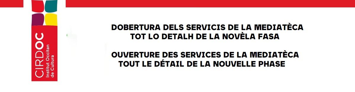 Réouverture des services de la Mediatèca - Tout le détail de la nouvelle phase