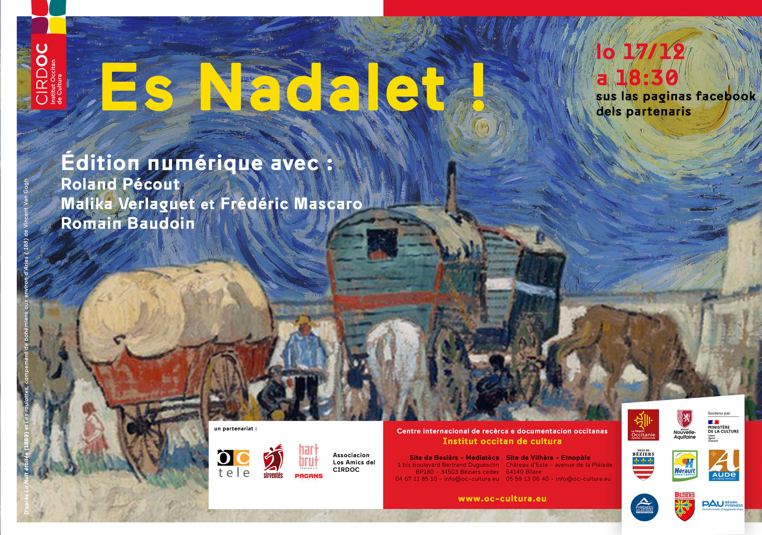 « Es Nadalet » - Avant-première en ligne de l'émission dédiée au Nadal occitan
