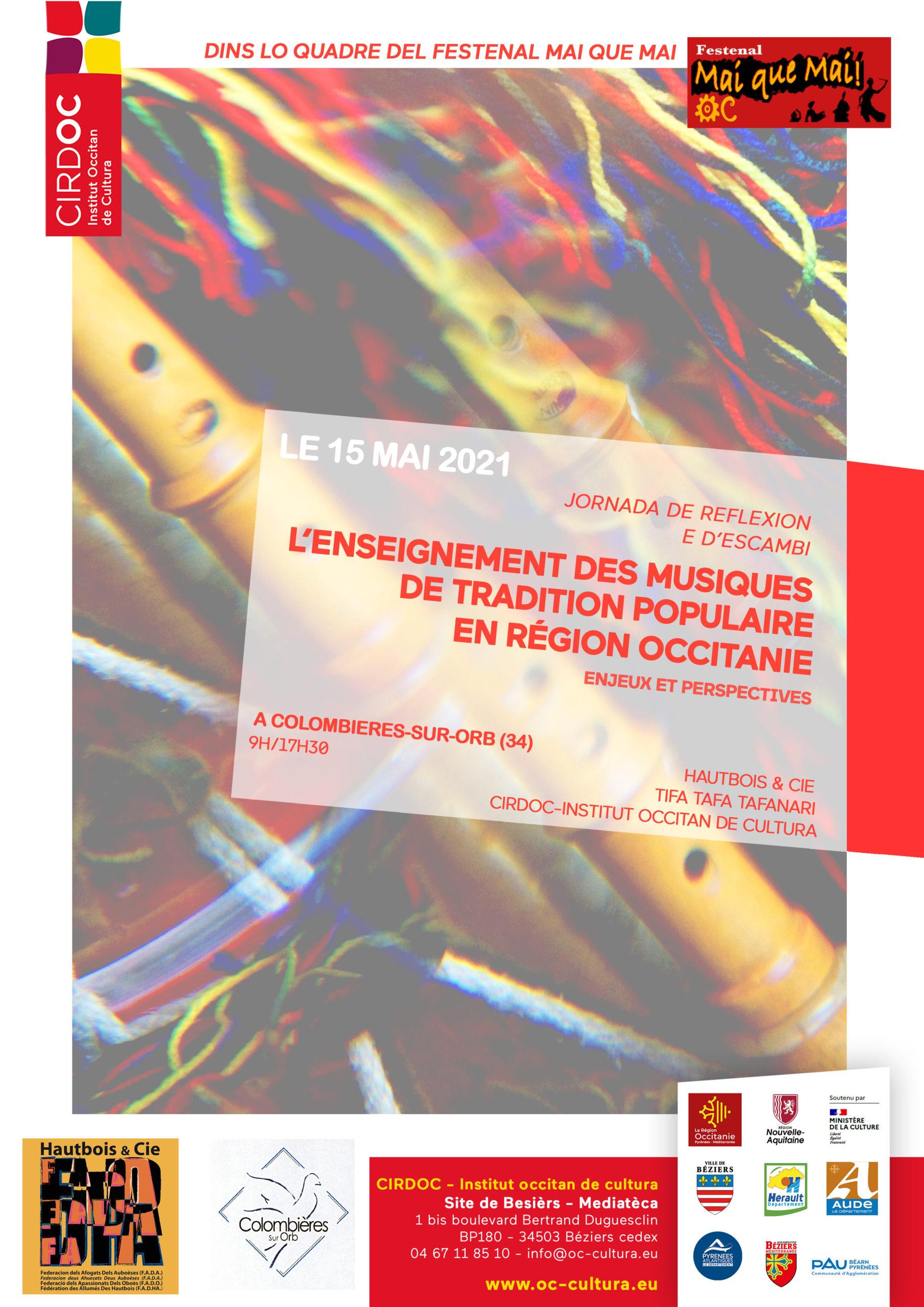 (reporté en 2022) L'enseignement des musiques de tradition populaire en région Occitanie